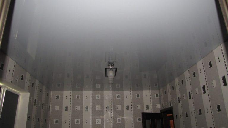 Натяжные потолки немецкие одноуровневые белого цвета