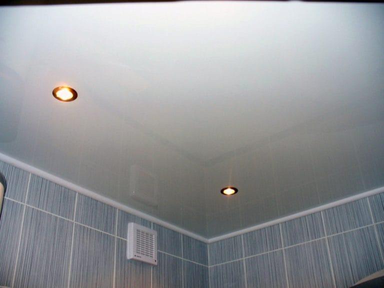 Натяжные потолки немецкие матовые для ванной