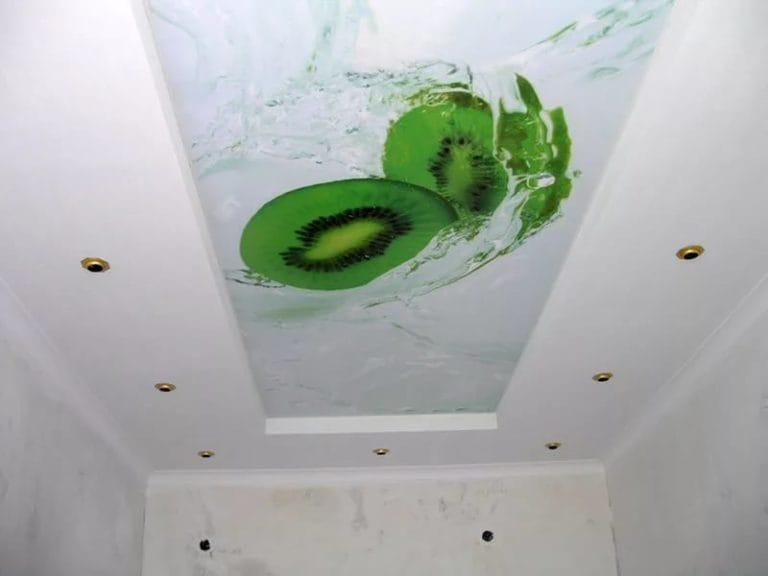 Натяжные потолки глянцевые с фотопечатью 3D
